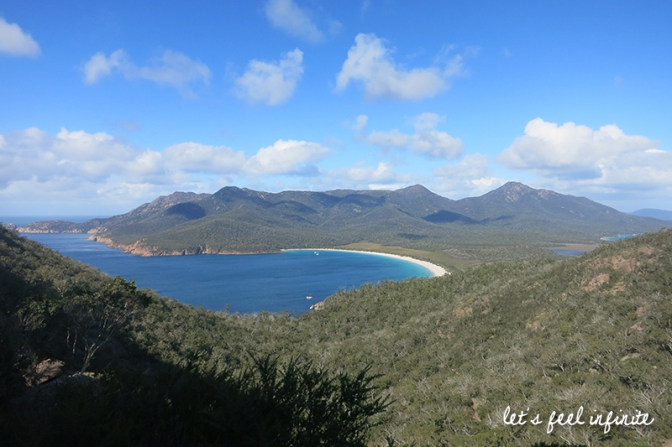 Tasmanie - Wineglass Bay Lookout