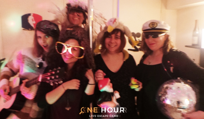 Escape Game One Hour Paris - Very bad night