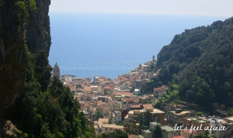 Amalfi - View from the stairs