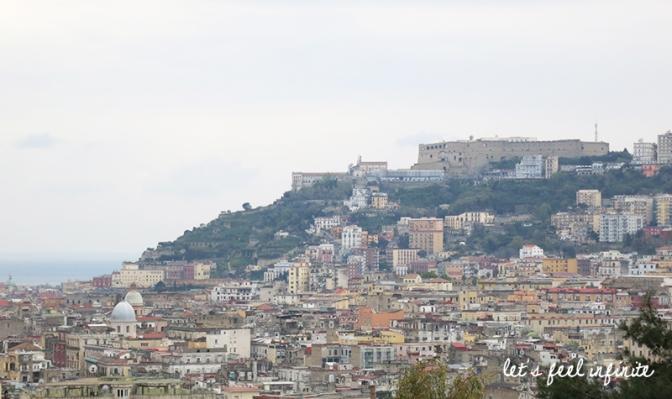 Vue de Naples depuis le musée Capodimonte