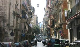 Naples - Rue du quartier espagnol