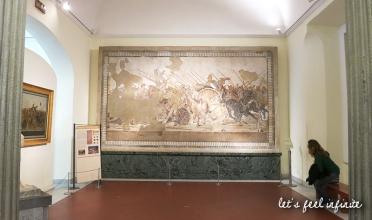 Naples - Museo archeologico - Mosaïque de Pompéi
