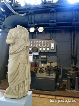 Centrale Montemartini - Statues et machines 2