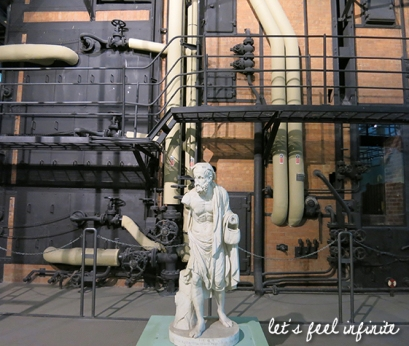 Centrale Montemartini - Statues et machines 3