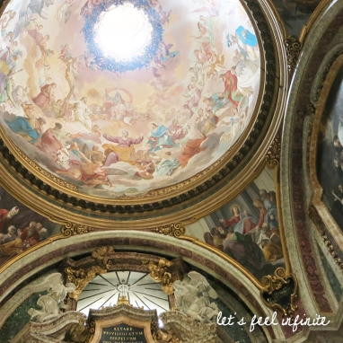Coupole de l'église Sant'Ignazio di Loyola