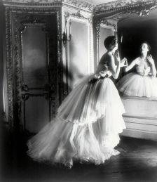 Dior Schumann Dress on Louise Dahl-Wolfe